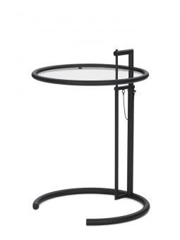 Eileen Gray Beistelltisch E 1027 Adjustable Black Edition