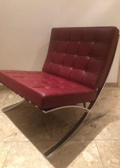 Mies van der Rohe Barcelona Sessel. Reduziert und sofort verfügbar