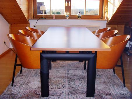 le corbusier lc6 esszimmertisch vorf hr artikel online kaufen bei. Black Bedroom Furniture Sets. Home Design Ideas