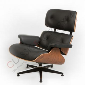 Eames Sessel charles eames lounge chair mit ottoman palisander kaufen