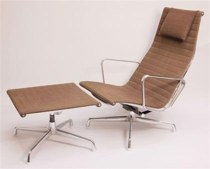 charles eames aluminium lounge chair online kaufen bei. Black Bedroom Furniture Sets. Home Design Ideas