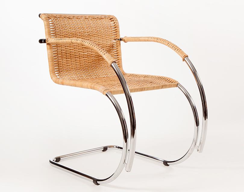 mies van der rohe freischwinger mr20 peddigrohr online. Black Bedroom Furniture Sets. Home Design Ideas