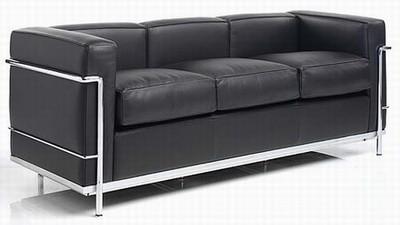 le corbusier dreisitzsofa lc2 online kaufen bei. Black Bedroom Furniture Sets. Home Design Ideas