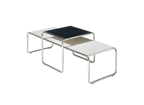 marcel breuer beistelltisch set laccio online kaufen bei. Black Bedroom Furniture Sets. Home Design Ideas