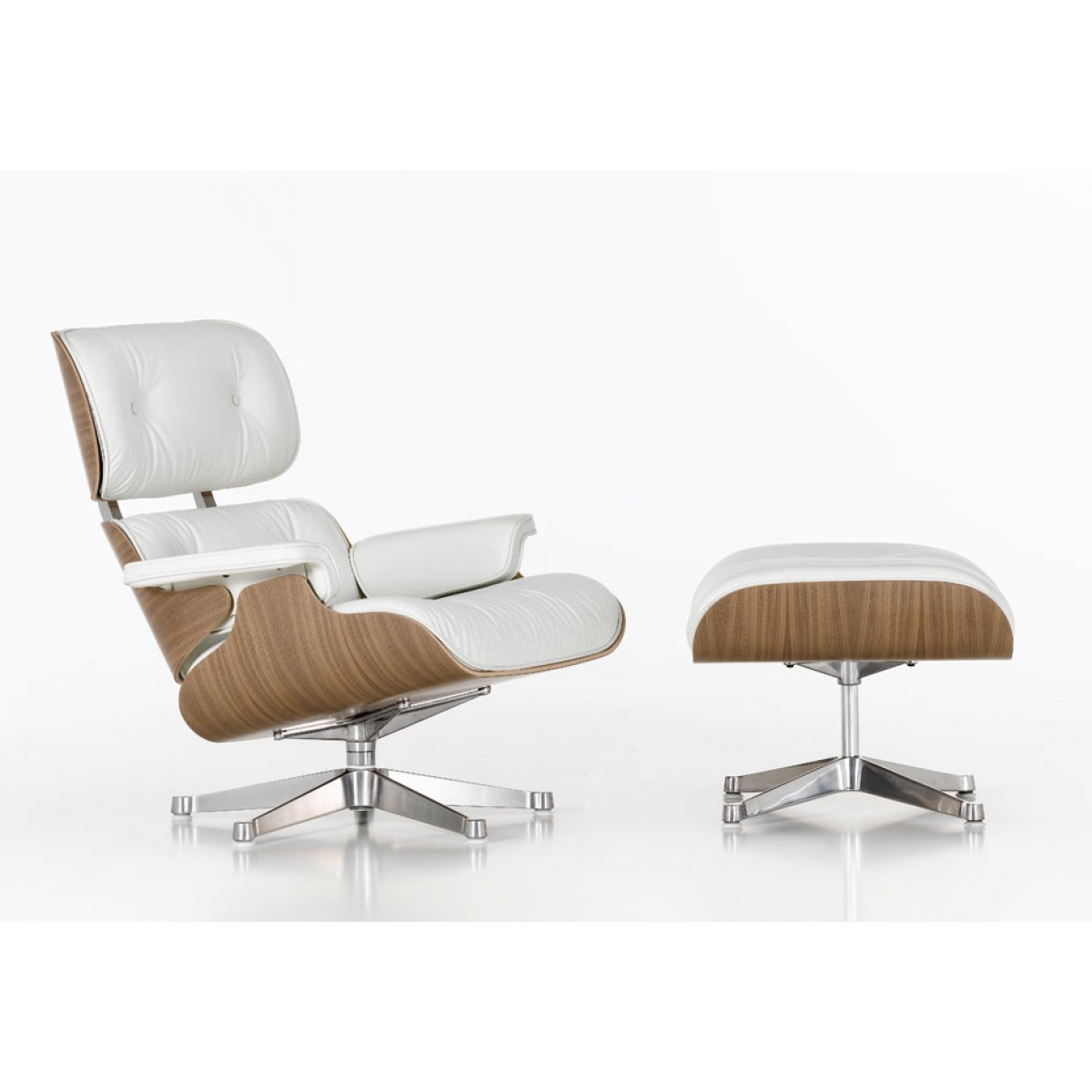 Charles Eames Lounge Chair Nussbaum   online kaufen bei ...