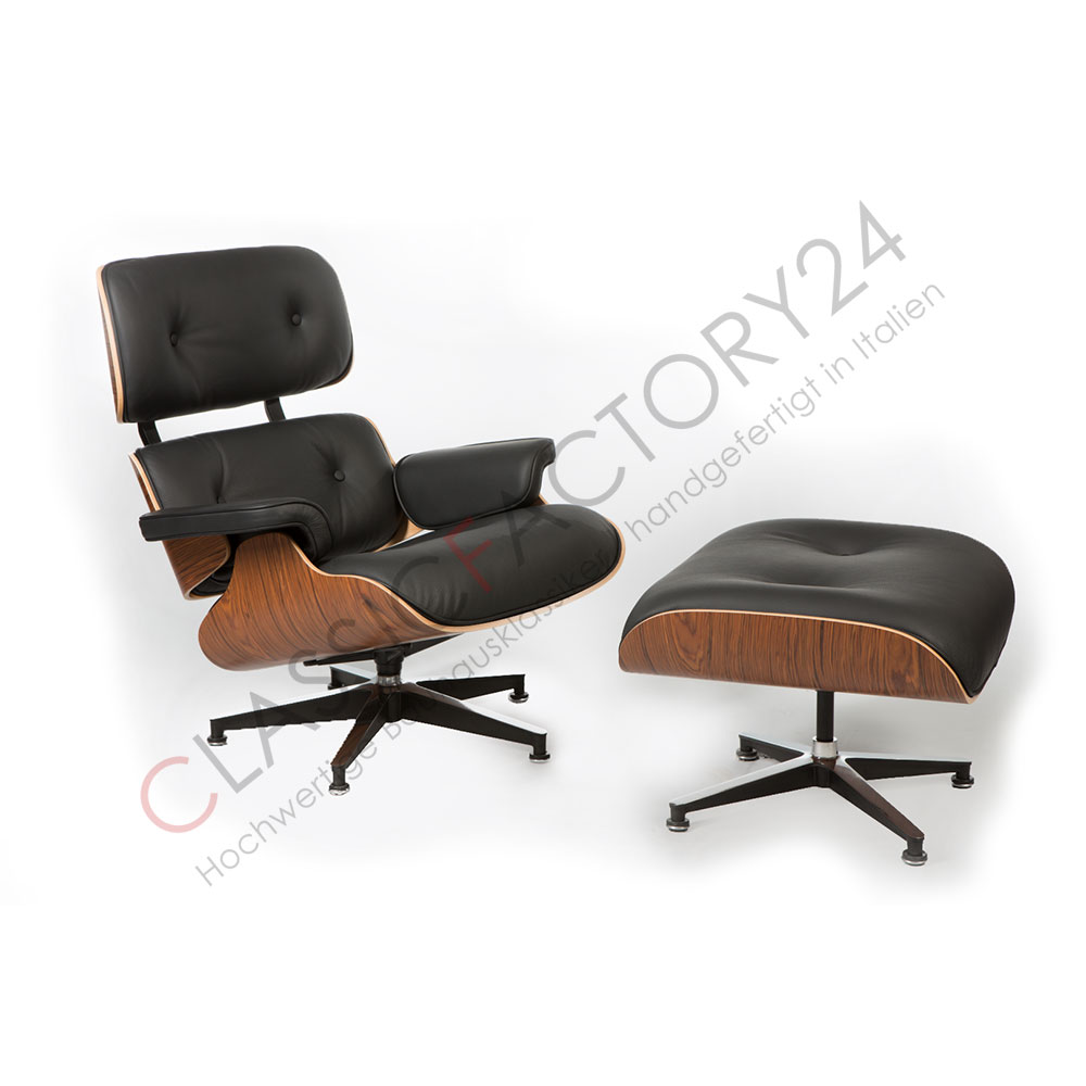 charles eames lounge chair mit ottoman palisander online. Black Bedroom Furniture Sets. Home Design Ideas