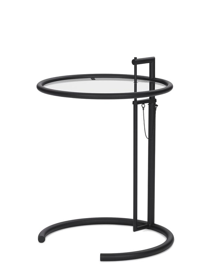 Eileen Gray Beistelltisch : eileen gray beistelltisch e 1027 adjustable black edition online kaufen bei ~ Michelbontemps.com Haus und Dekorationen