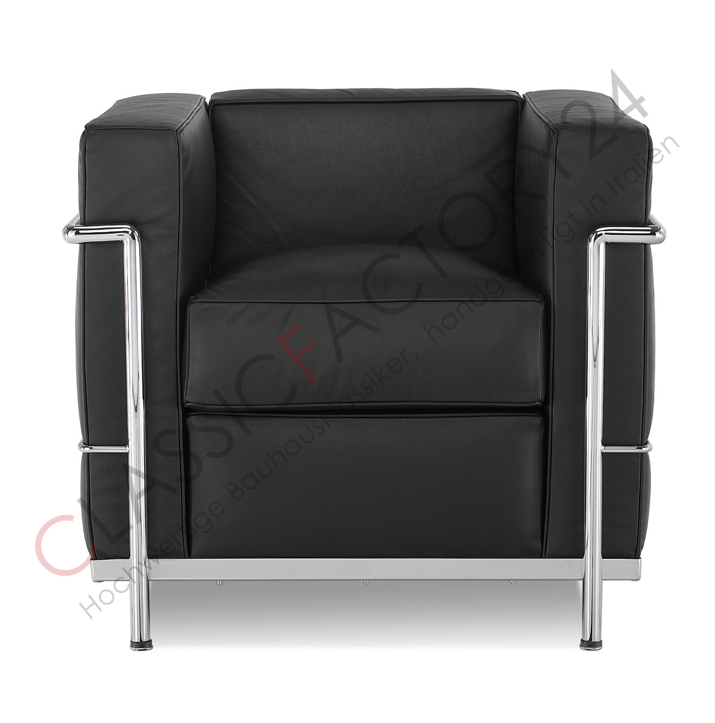 le corbusier sessel lc2 online kaufen bei. Black Bedroom Furniture Sets. Home Design Ideas