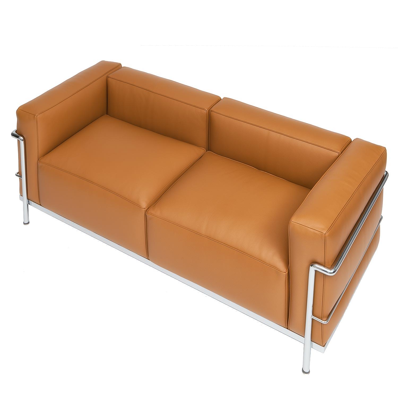 Le Corbusier Two Seat Sofa LC3